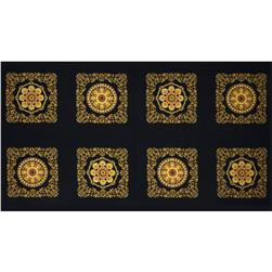 Barolo Metallic Panel Black
