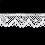 NR-4929 Riley Blake Sew Together 1 1/4&quot; Crocheted Lace Trim White