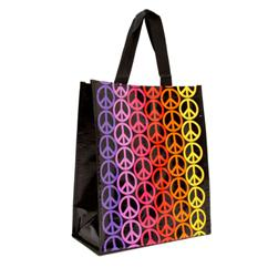 Insta-Totes Lunch Tote Peace Bright