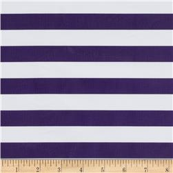 Oil Cloth Stripes Purple