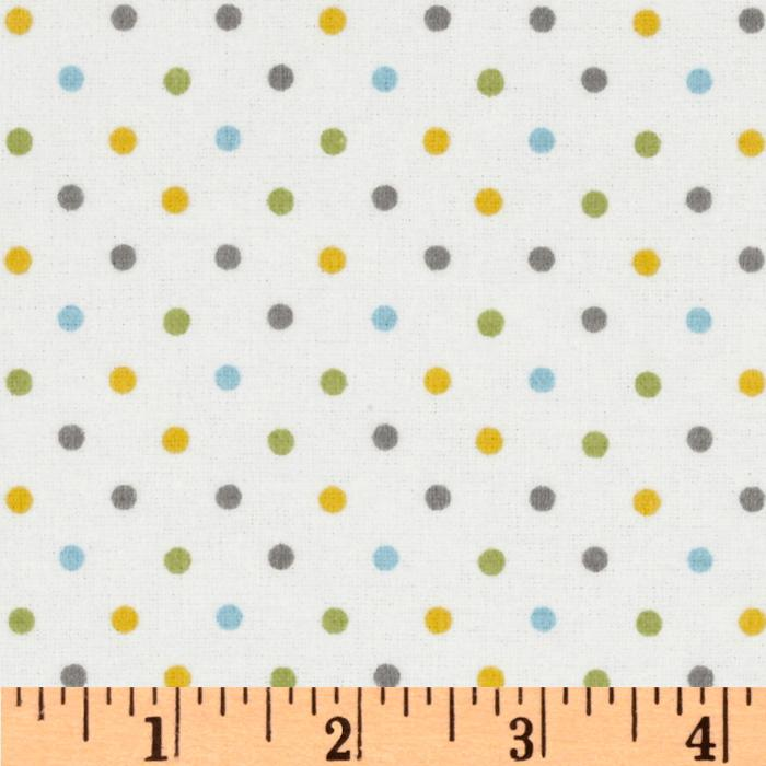 Cozy Cotton Flannel Mini Dot Multi