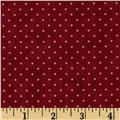 Moda Essential Dots (# 8654-18) Red