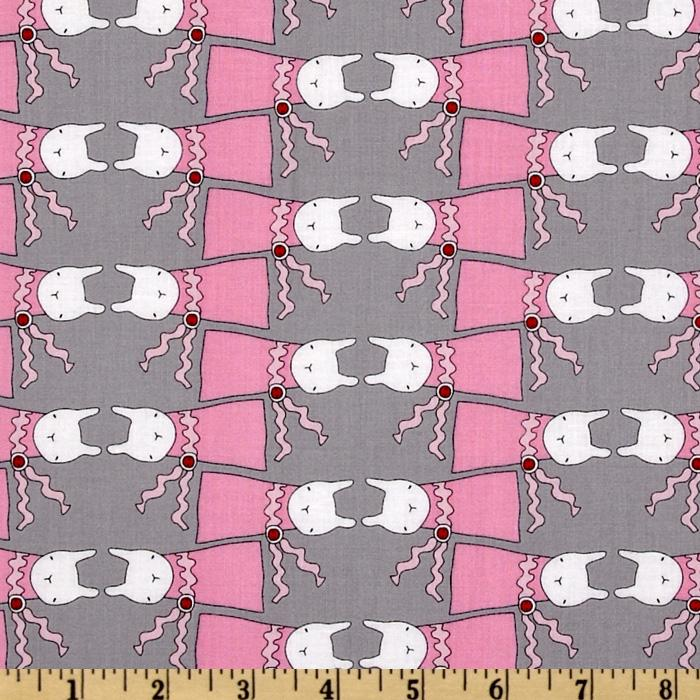 Ric Rac Rabbits All Dressed Up Pink