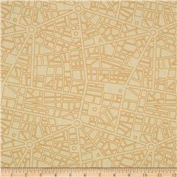 Moda Barcelona City Map Cream