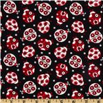 Masquerade Party Ladybugs Black