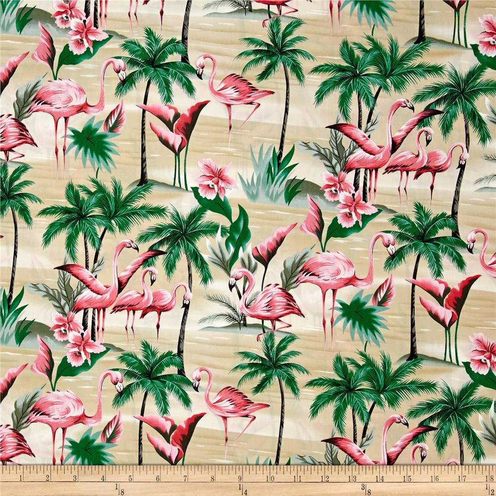 Hoffman Tropical Collection Flamingo Sand