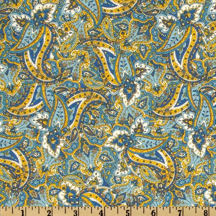 St. Croix Packed Paisley Blue