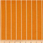 0270409 Michael Miller Textured Basics Shoreline Stripe Tangerine