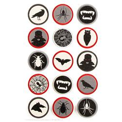 Martha Stewart Crafts Layered Stickers Vampire Icon