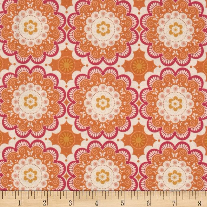 Riley Blake Flutter Doily Orange