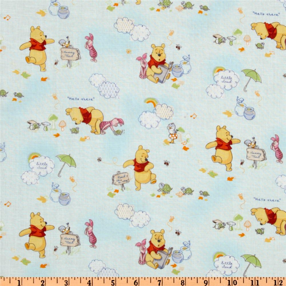 Winnie the pooh discount designer fabric for Wholesale childrens fabric