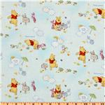 FD-243 Pooh Little Cloud Friends Blue