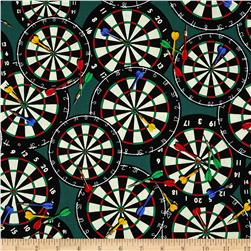 Games People Play Dart Board Green