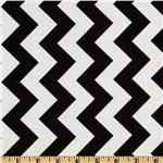 FO-217 Riley Blake Chevron Medium Black