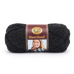 Lion Brand Heartland Yarn Black Canyon