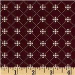 214086 Moda Tapestry Mezzanine Garnet
