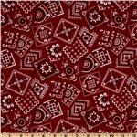 FN-100 Best Bandanas Square Red