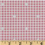 Hill Farm Gingham White/Pink