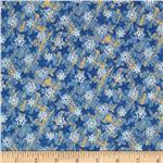 0272586 Christmas Memories Snowflakes Blue