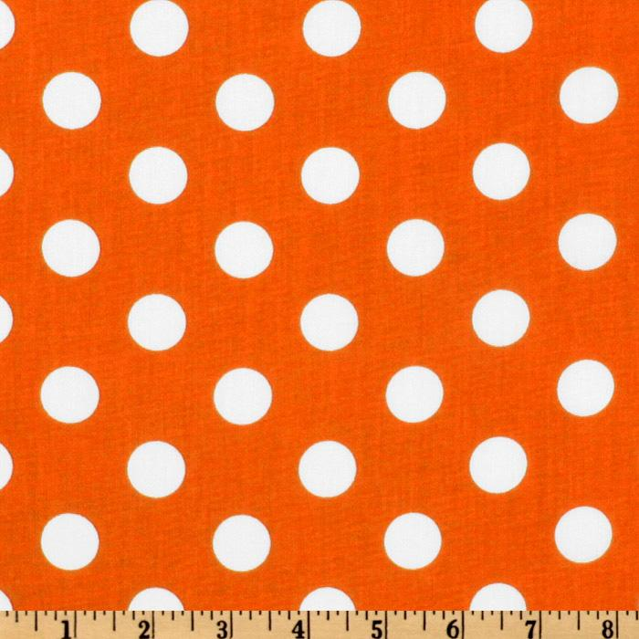 Forever Large Polka Dot Orange