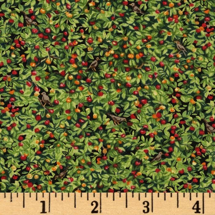 Farm Apple Foliage Green
