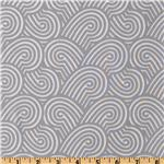 Michael Miller Sanctuary Zen Garden Grey