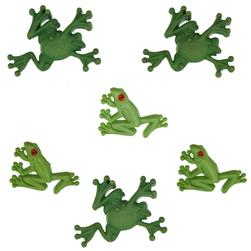 Dress It Up Embellishment Buttons  Tree Frog