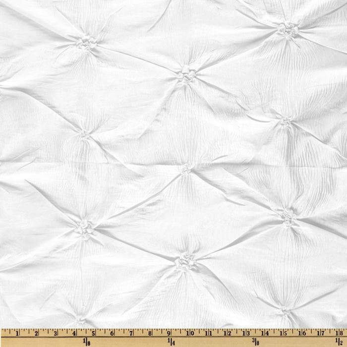 Rosette Iridescent Taffeta White