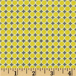Styl Mod Small Circles Grey/Yellow