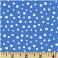 Susybee Christmas Snow Dots White/Blue