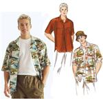 KP-2935 Kwik Sew Men's Shirts & Hat Pattern