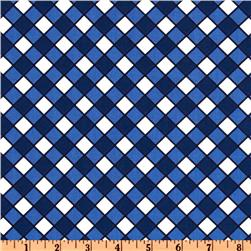Hoodie's Collection Tablecloth Check Blue