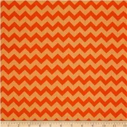 Chevron Tonal Orange/Soft Orange