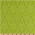 Vintage Vogue Damask Kiwi