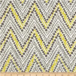 Waverly Trend Spotter Chevron Twill Sterling