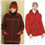 Kwik Sew Stretch Knit Jackets & Hat Pattern