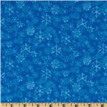 Chill Out Snowflake Blender Blue
