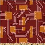 Robot Factory Organic Circuit Board Rust