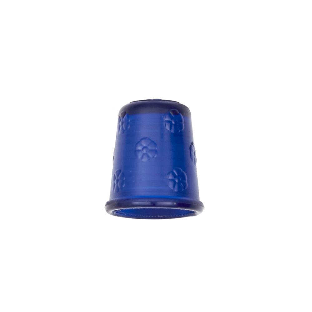 "Dill Rubberized Thimble 11/16"" Blue"