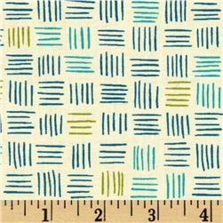 Moda Soho Chic Dashes Teal