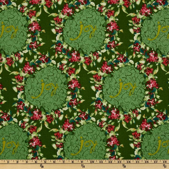 Ambrosia Large Wreath Green