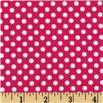 FR-692 Spot On Mini Dots Fuchsia