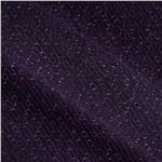 Wool Blend Shimmer Coating Purple
