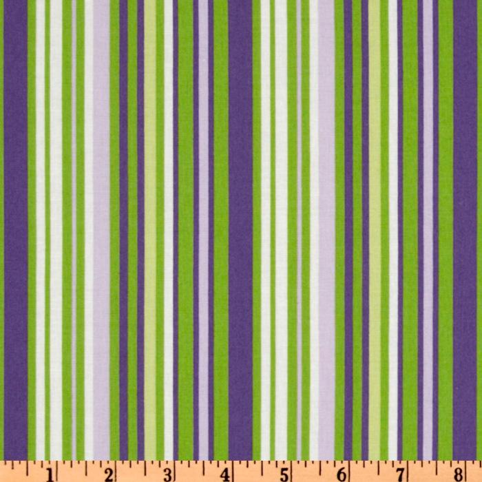 Crazy for Dots & Stripes Purple/Green