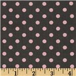 EK-083 Michael Miller Dumb Dot Bloom Grey/Pink
