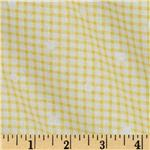 Hill Farm Gingham Yellow