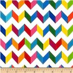 Fiesta Chevron White