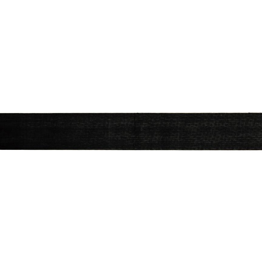 1'' Sheer Organza Ribbon Black