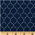E-I-E-I-O Chicken Wire Navy