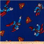 0283547 Superman Fleece Shield Royal